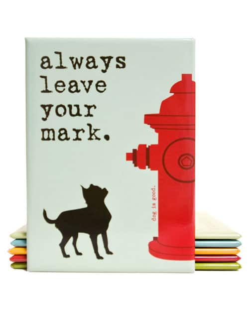 Always Leave Your Mark
