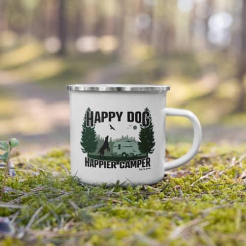 Mug: Happy Dog Happier Camper