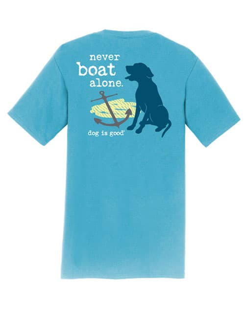 Never Boat Alone (Wave Blue)