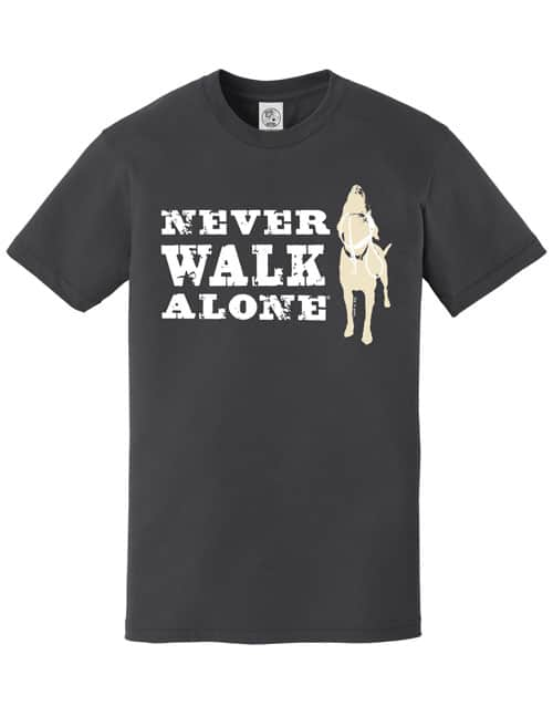 Never Walk Alone (Charcoal)