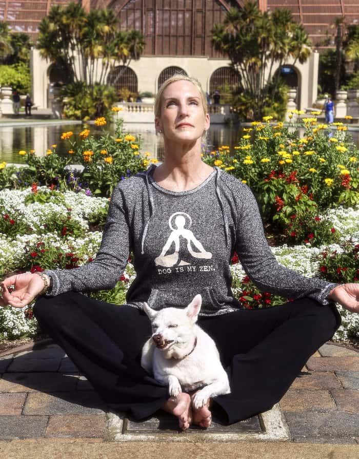 Dog is My Zen, Women's Tunic
