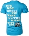 T-Shirt: Never Walk Alone, Women's 2