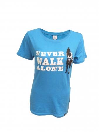 T-Shirt: Never Walk Alone Women's