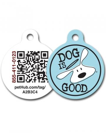 Pet ID: Bolo Logo QR Code Tag by PetHub