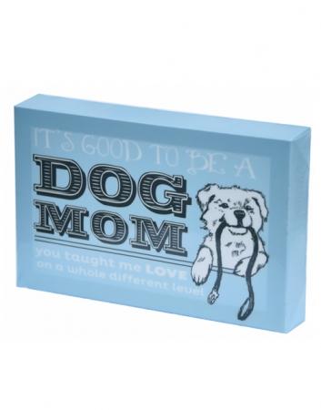 Canvas Wall Art: Dog Mom 6x9
